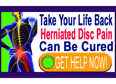cure herniated disc pain